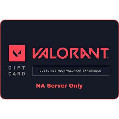 Valorant Gift Card (NA Server) Valorant Points
