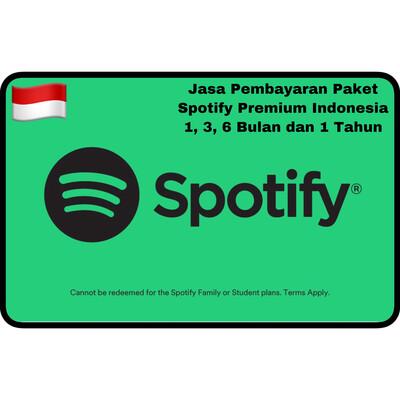 Jasa Pembayaran Paket Spotify Premium Indonesia