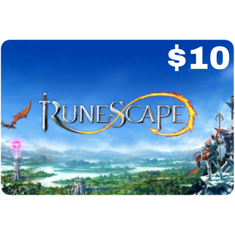 Runescape $10 Prepaid Card