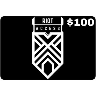 Riot Access Code $100 (NA Server)