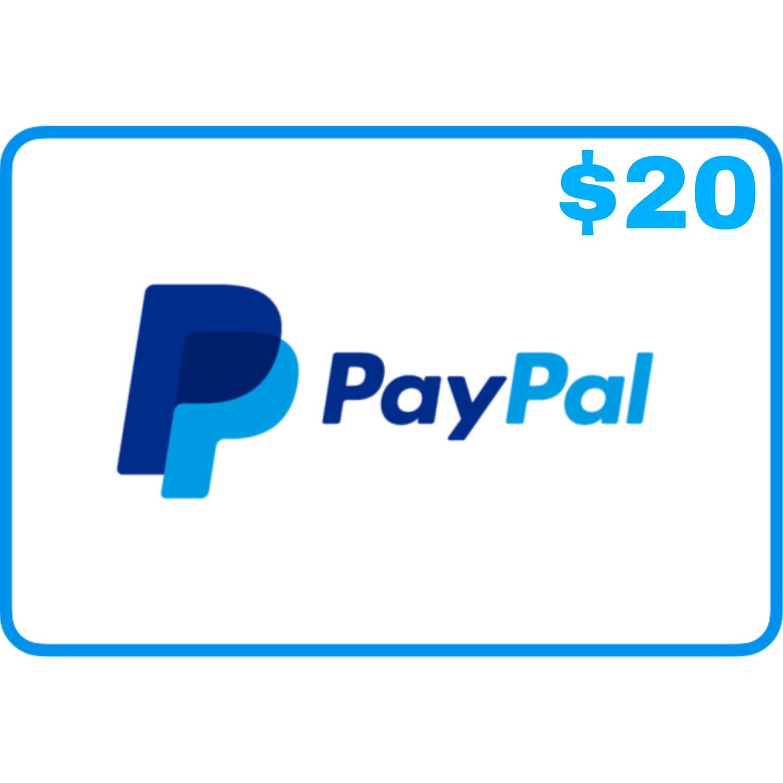 Jasa isi saldo Paypal $20