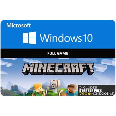 Minecraft Windows 10 Starter Collection Game Code