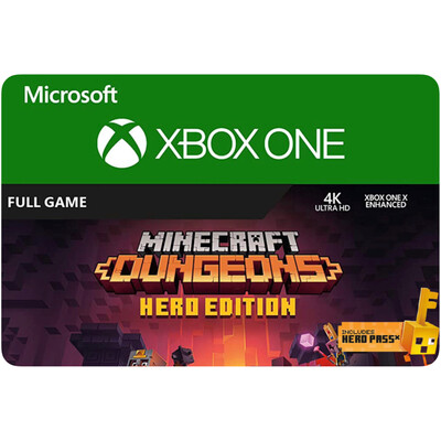 Minecraft Dungeons Hero Edition - Xbox One Game Code