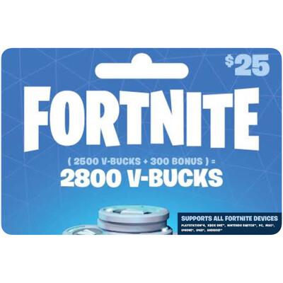 Fortnite 2800 VBucks $25 for All Devices