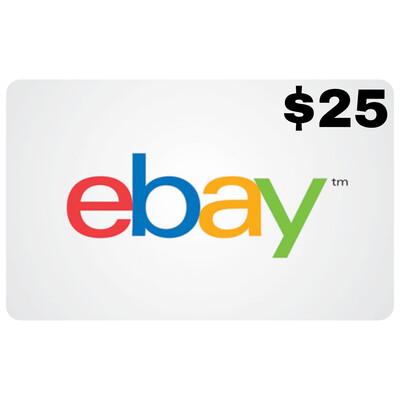 Ebay Gift Card US $25