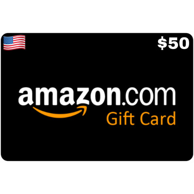 Amazon.com Gift Card US $50