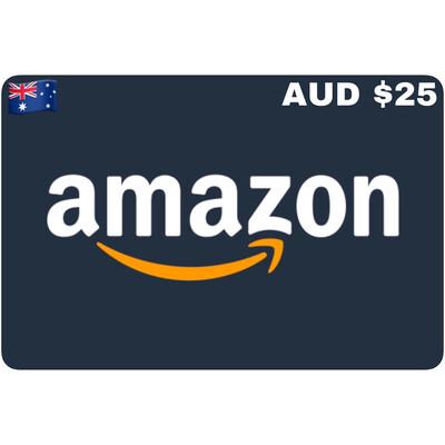 Amazon.com.au Gift Card Australia AUD $25