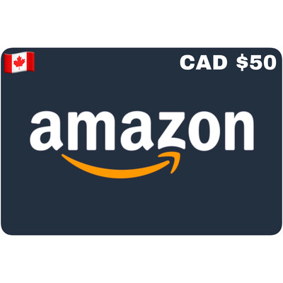 Amazon.ca Gift Card Canada $50