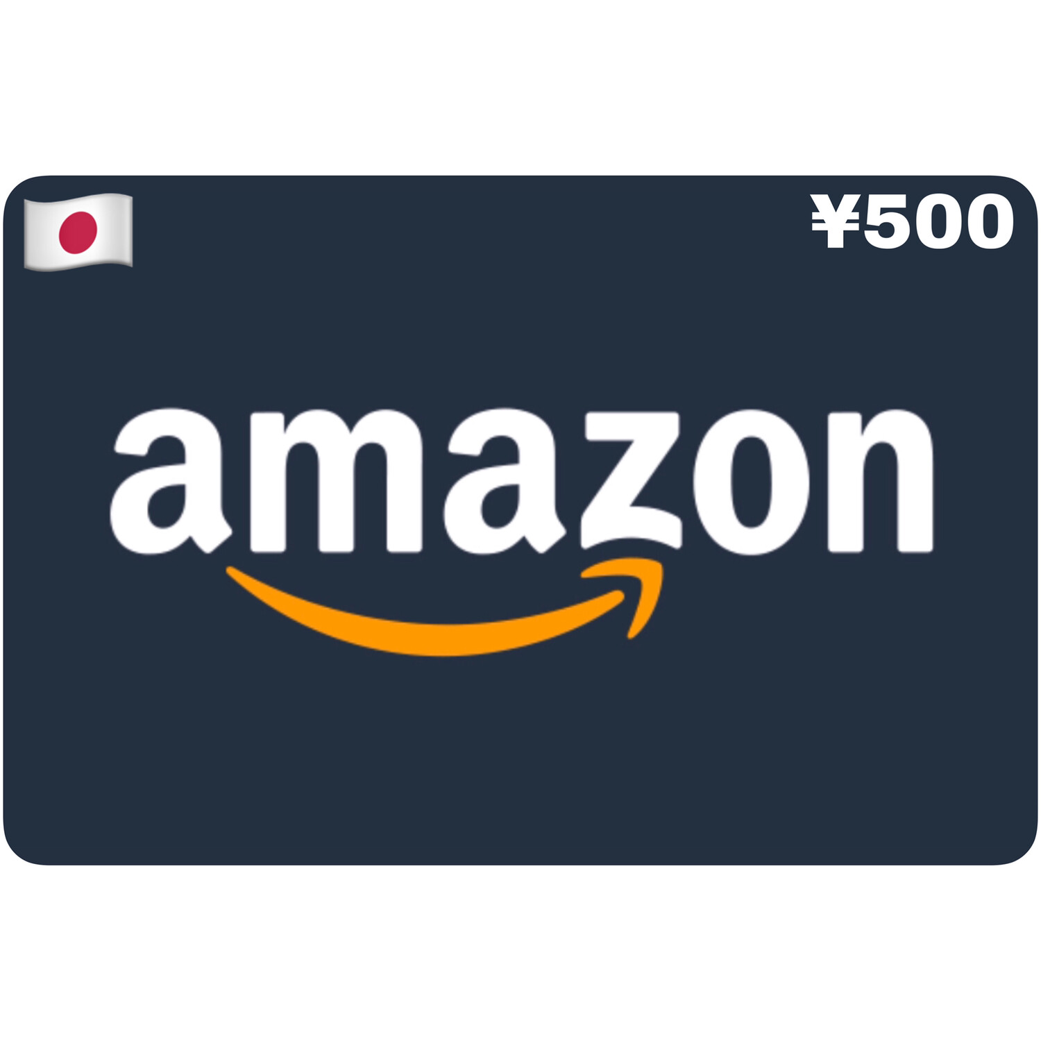 Amazon.co.jp Gift Card Japan ¥500 Yen