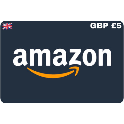 Amazon.co.uk Gift Card UK GBP £5