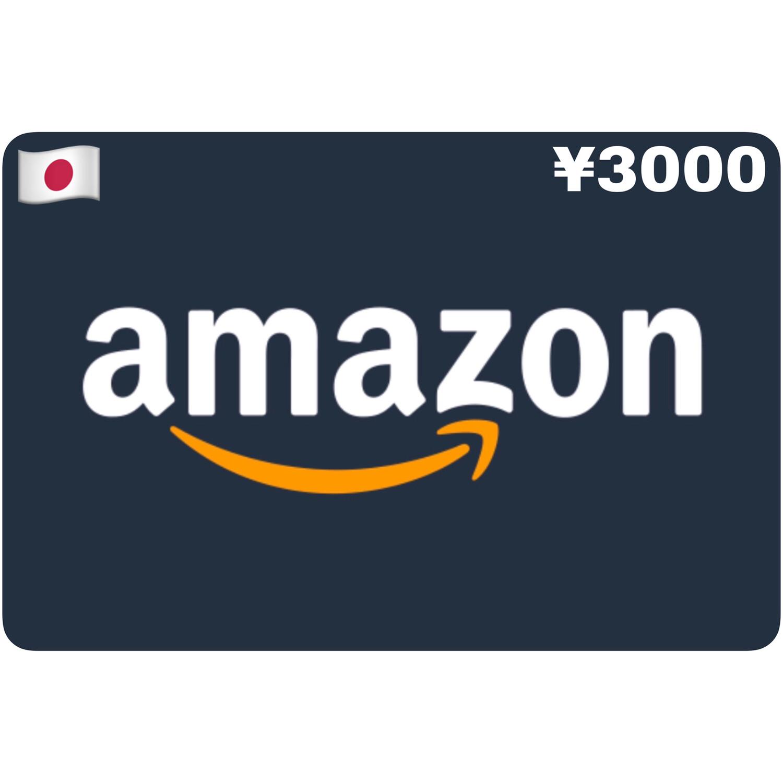 Amazon.co.jp Gift Card Japan ¥3000 Yen