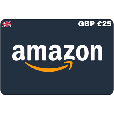 Amazon.co.uk Gift Card UK GBP £25