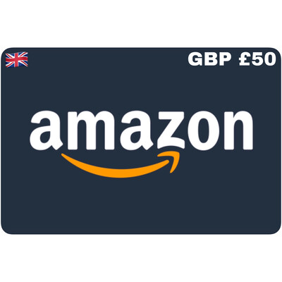 Amazon.co.uk Gift Card UK GBP £50