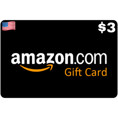 Amazon.com Gift Card US $3 Email Delivery