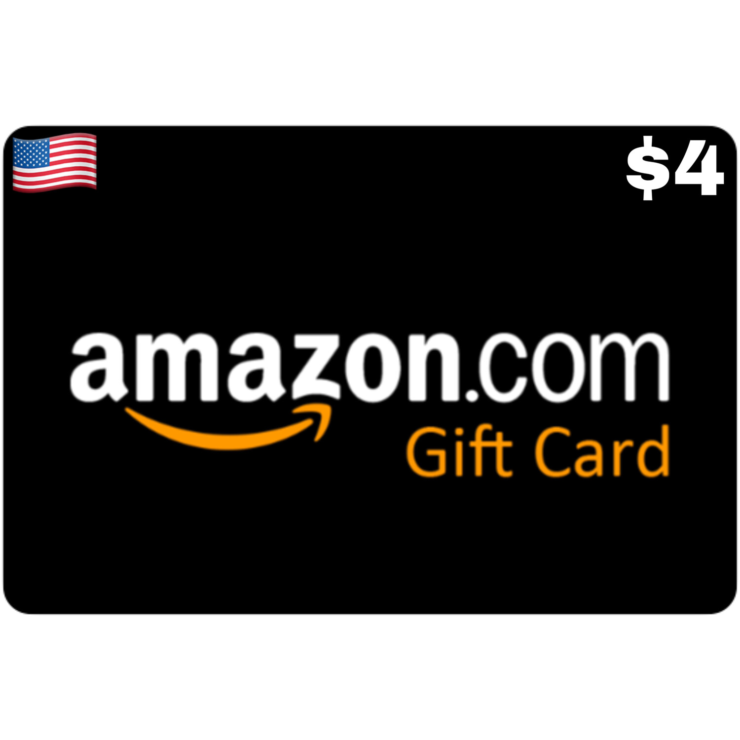 Amazon.com Gift Card US $4 Email Delivery