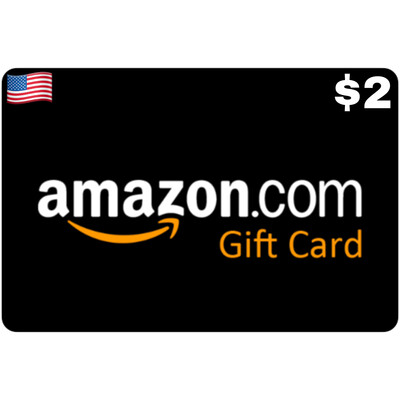 Amazon.com Gift Card US $2 Email Delivery