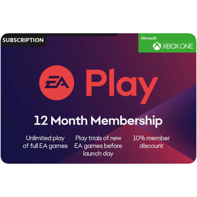 EA Play 12 Month Membership US for Xbox (EA Access)