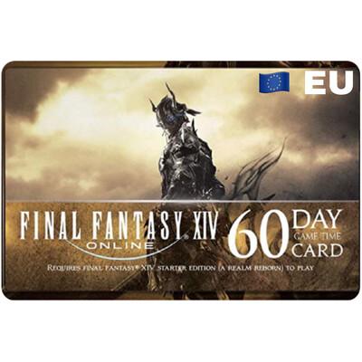 Final Fantasy XIV Online: 60 Day Time Cards EU