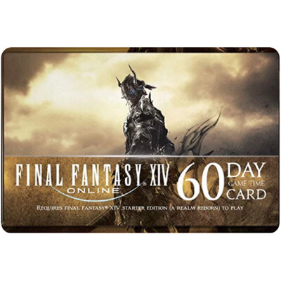 Final Fantasy XIV Online: 60 Day Time Cards US