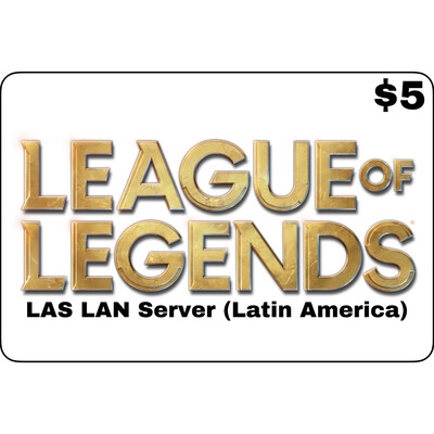 League of Legends $5 Latin America LAS and LAN Servers