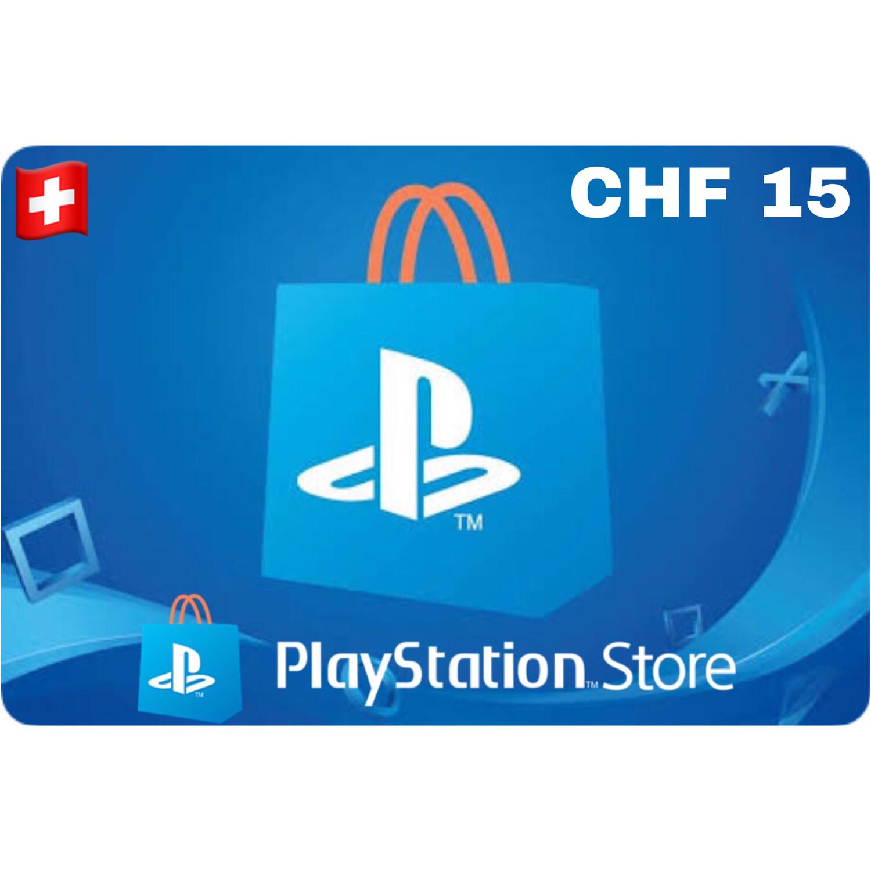Playstation (PSN Card) Switzerland CHF 15
