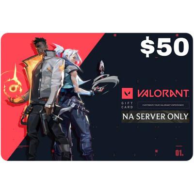 Valorant Gift Card $50 NA Server 5350 Valorant Point