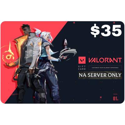 Valorant Gift Card $35 NA Server 3650 Valorant Point