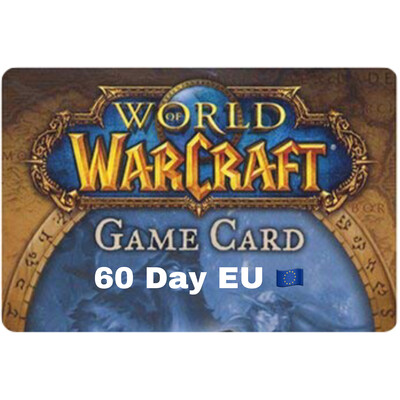 World of Warcraft 60 Day EU Game Card