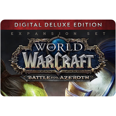 World of Warcraft: Battle for Azeroth Digital Deluxe US