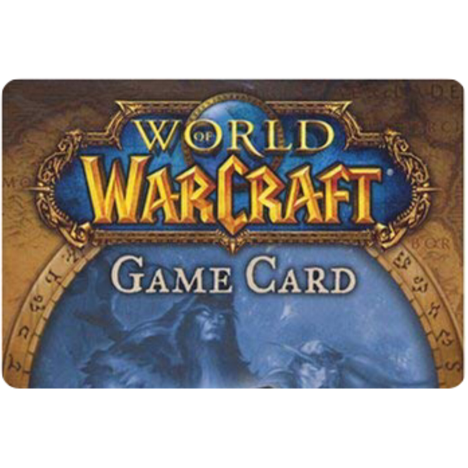 World of Warcraft Game Card