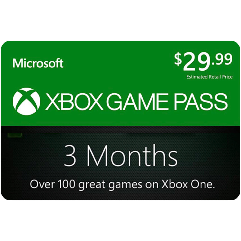 Xbox Game Pass 3 Months Membership