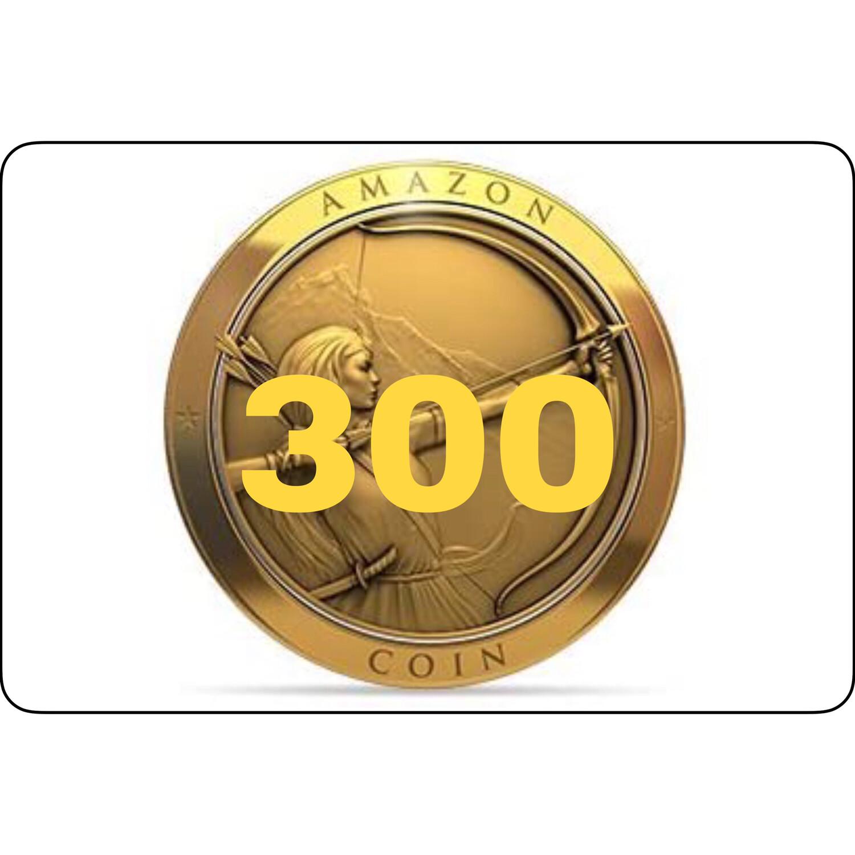 300 Amazon Coins