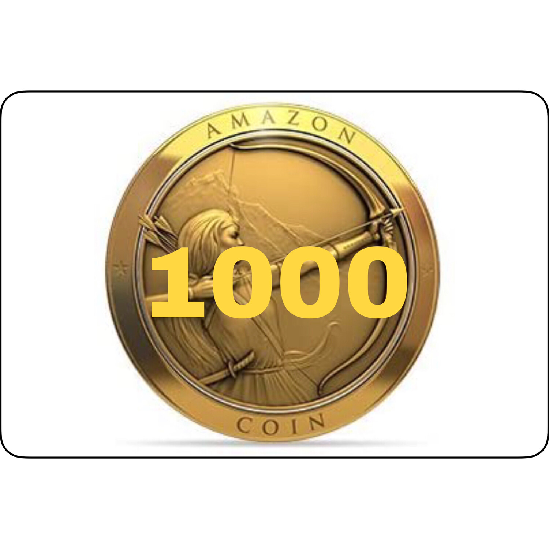 1000 Amazon Coins