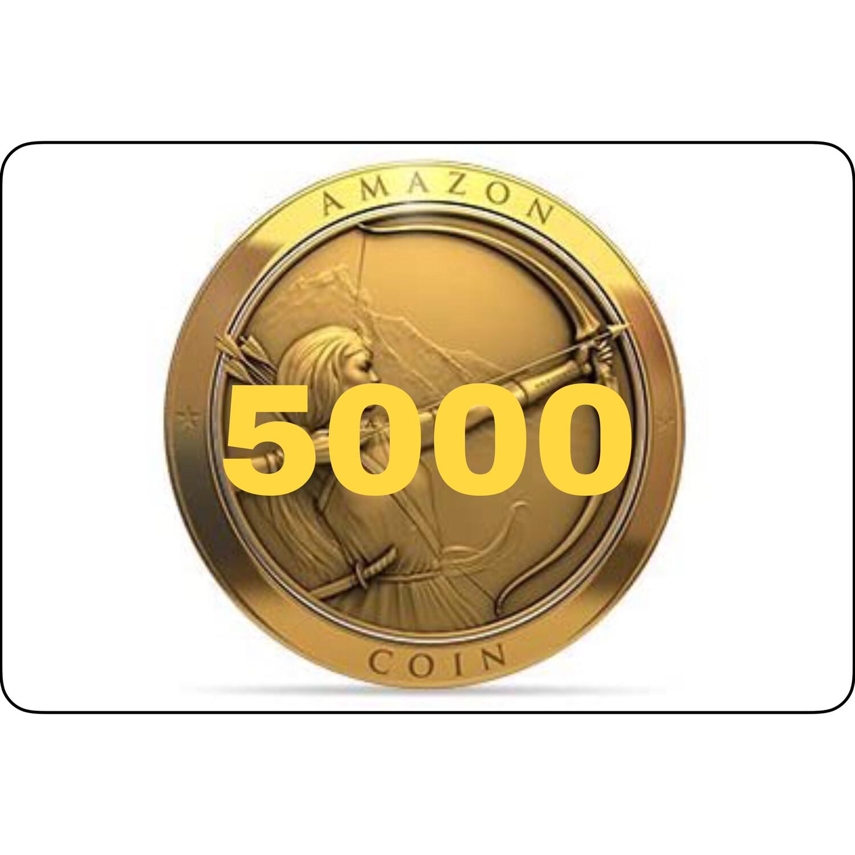 5000 Amazon Coins