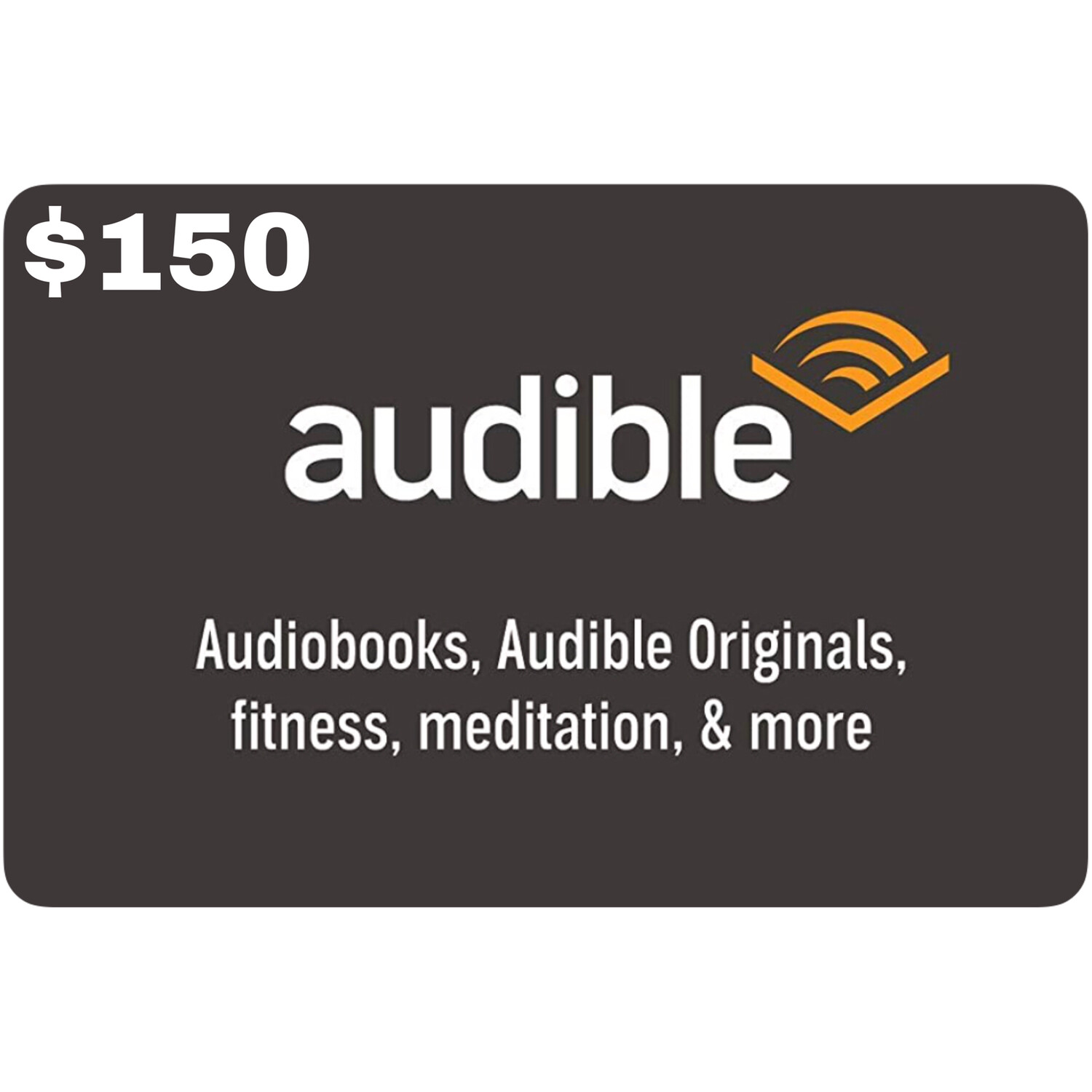 Audible Gift Card $150