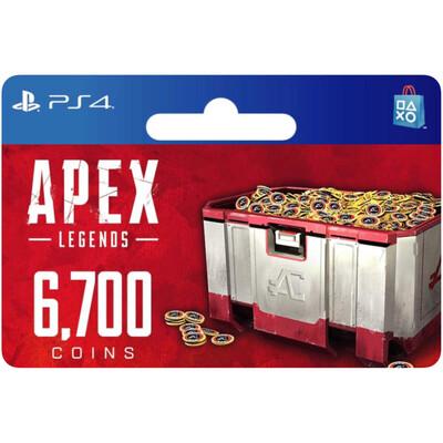 Apex Legends 6700 Apex Coins for PS4