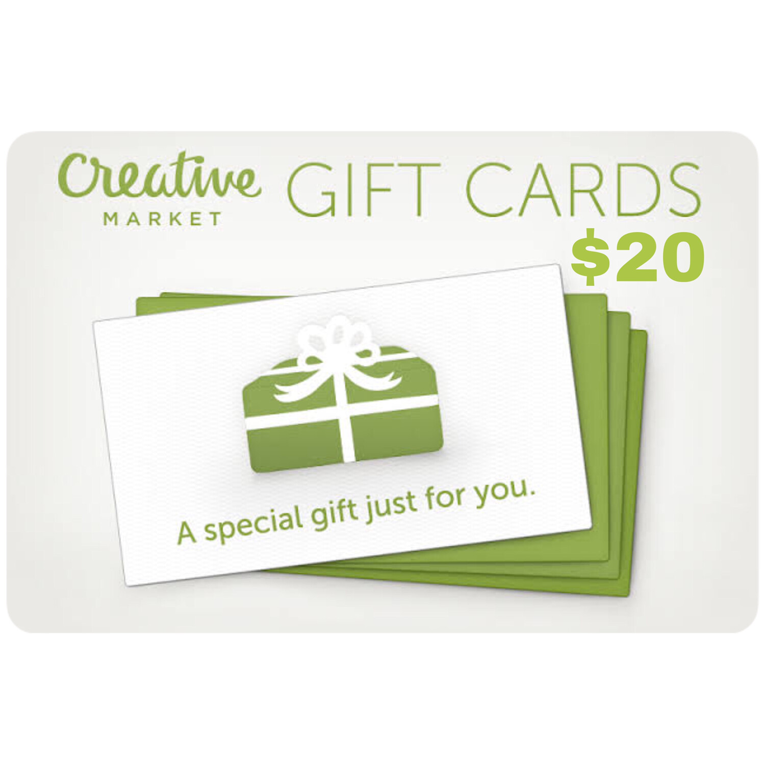 Creative Market Gift Card $20