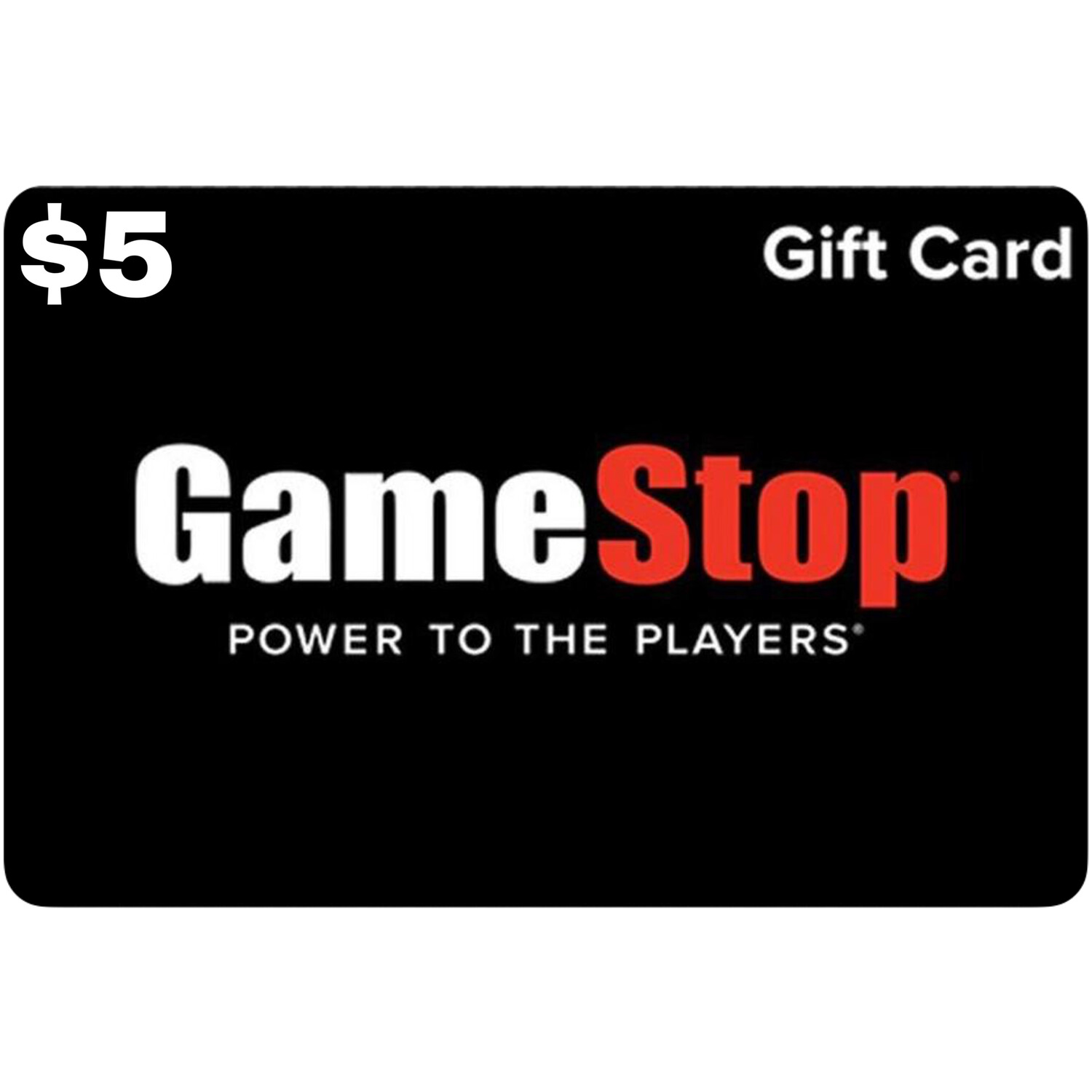 Gamestop Gift Card $5
