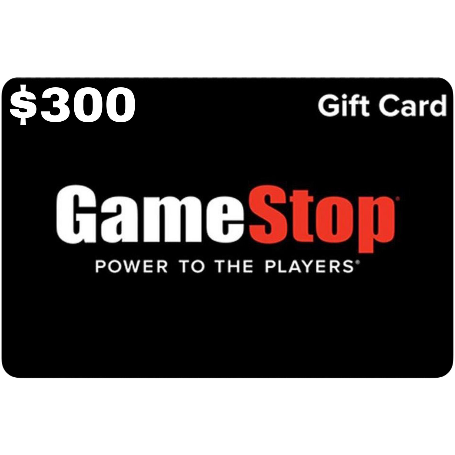Gamestop Gift Card $300