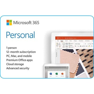 Microsoft 365 Personal Product Key 1 Year Subscription