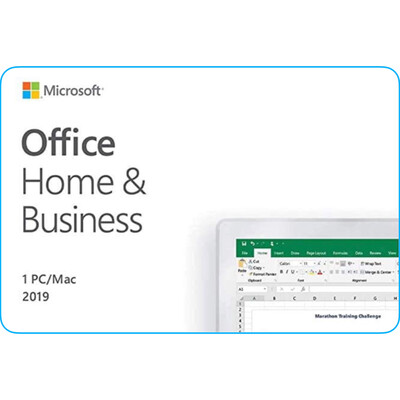 Microsoft Office Home & Business 2019 One Time Purchase for Mac and PC