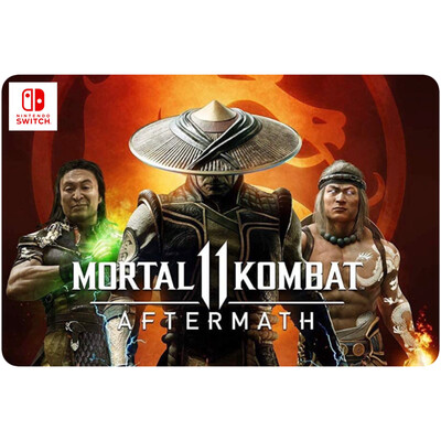 Mortal KOMBAT 11 Aftermath Game Code for Nintendo