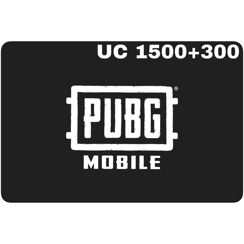 PUBG Mobile UC 1500 + 300 (1800 UC) Redeem Code