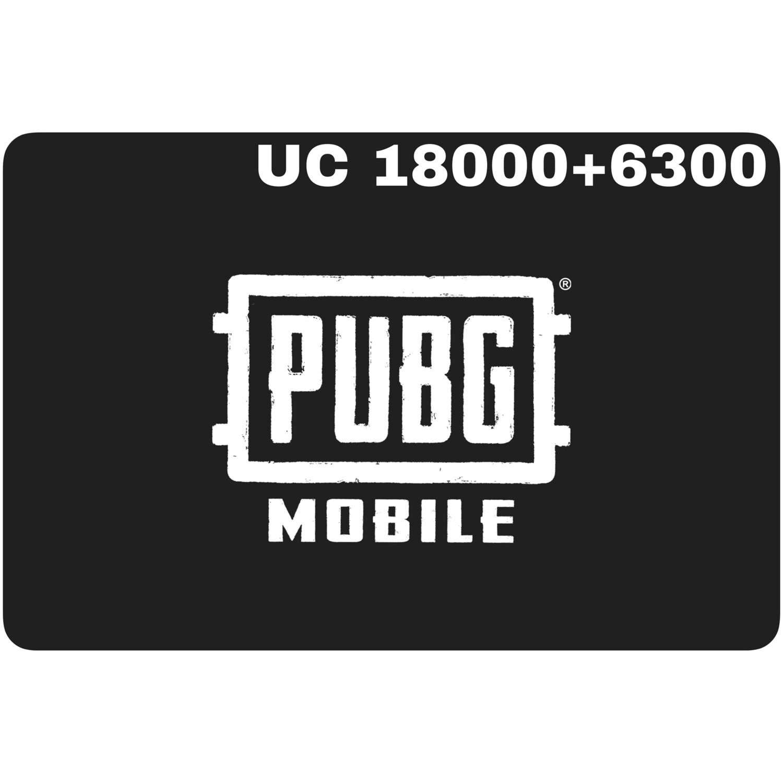 PUBG Mobile UC 18000 + 6300 (24300 UC) Redeem Code