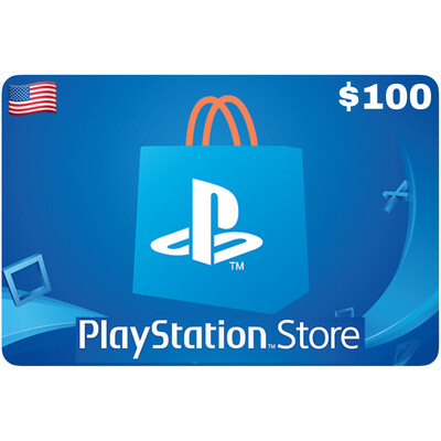 Playstation Store Gift Card US $100