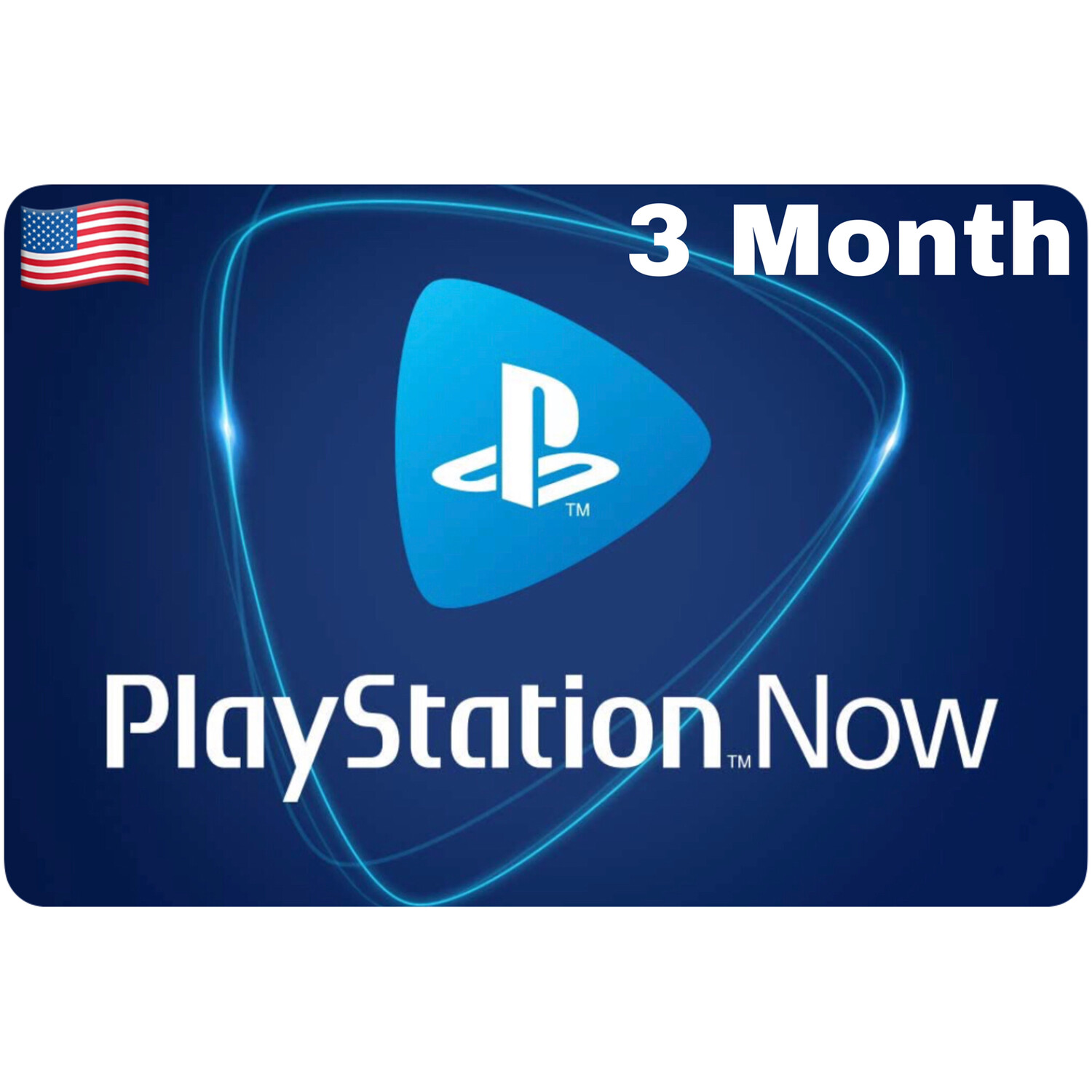 Playstation Now US 3 Month Subscription