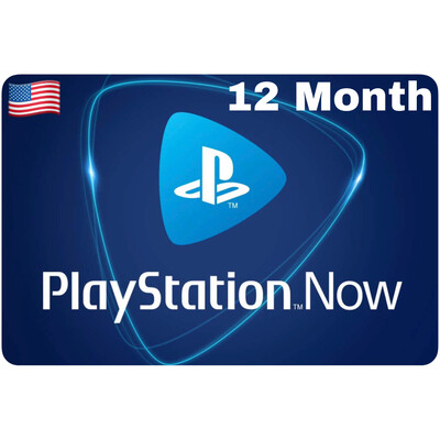 Playstation Now US 12 Month Subscription