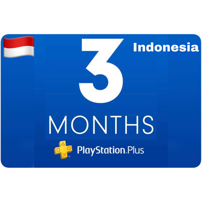 Playstation Plus Membership Indonesia 3 Bulan