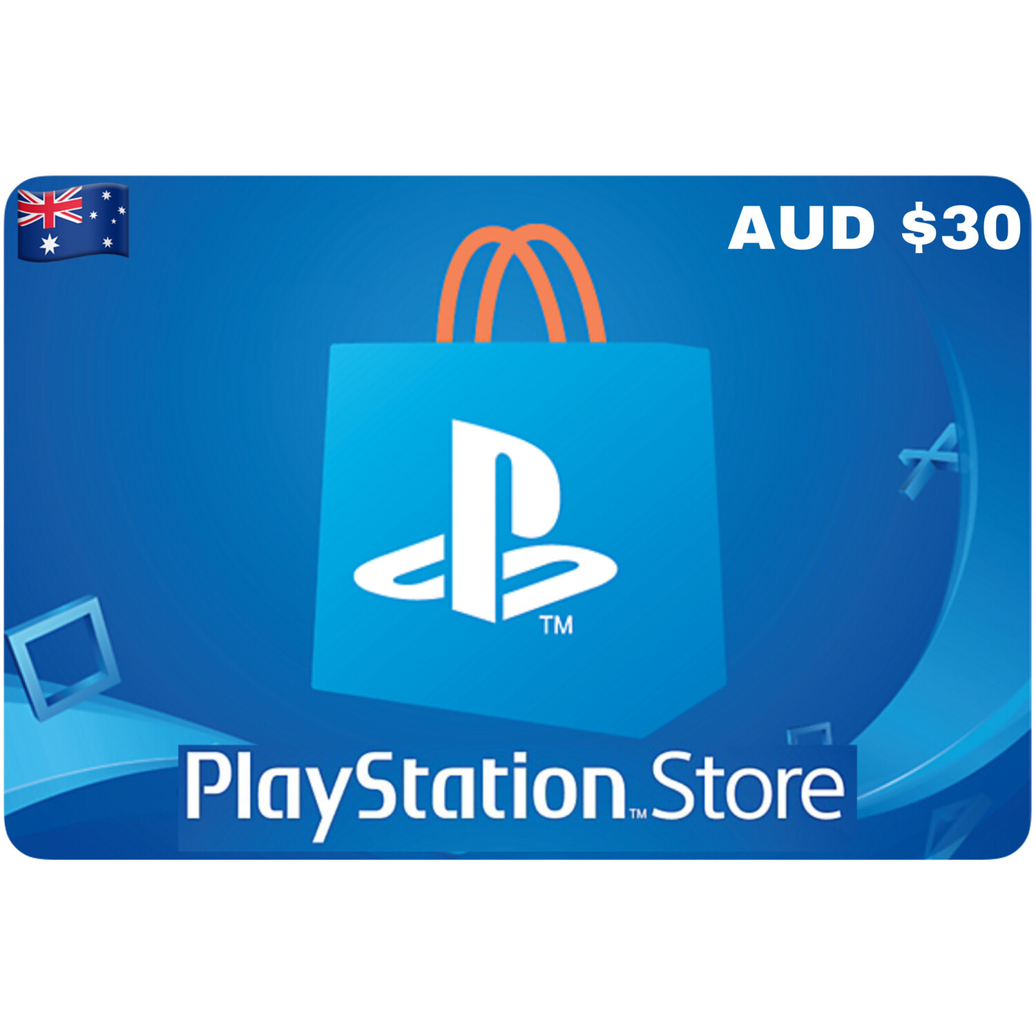 Playstation Store Gift Card Australia AUD $30