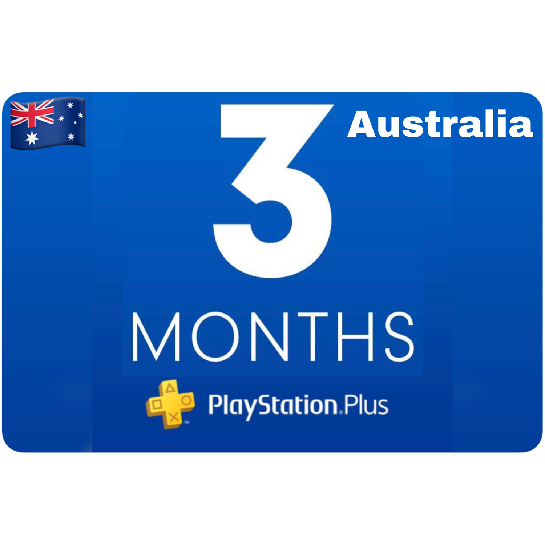 Playstation Plus Membership Australia 3 Month